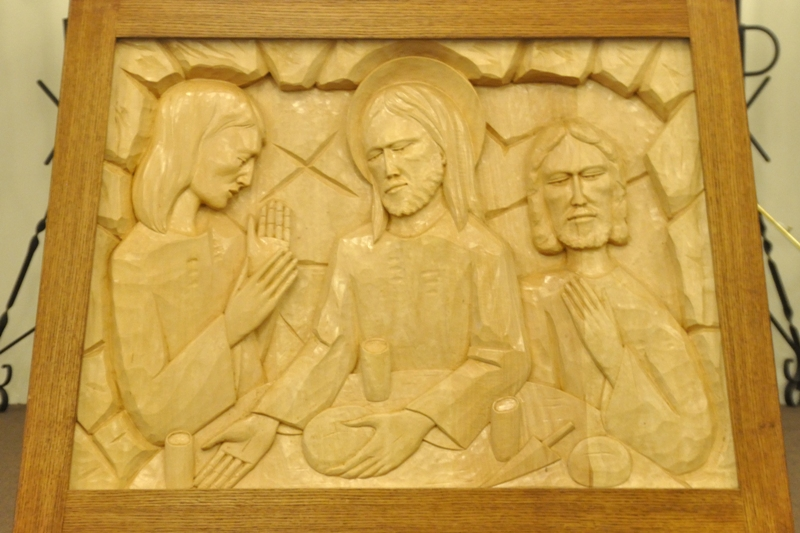 2013-10-01  Holy Trinity Church Alter Carving