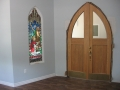 2011-07-01 Door and Stained Glass Window