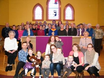 All Saints' Church Congregation 2016-05-29